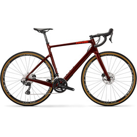 Cervelo Aspero GRX, burgundy/dark orange